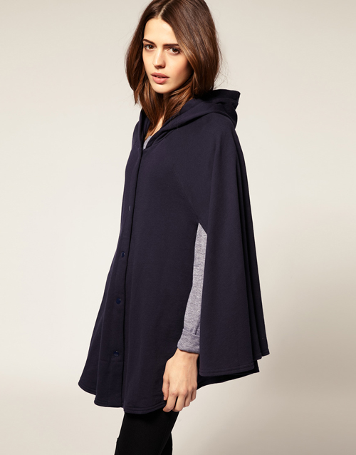 ASOS American Apparel – Fleece-Cape