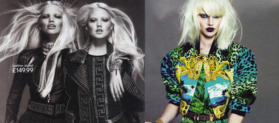 Kampagnenbilder zur Kollektion von H&M und Versace