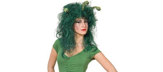 Medusa Kostüm Halloween Perücke
