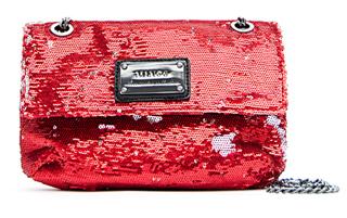 Pailletten Tasche von Mango in rot