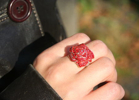 Ring Guess Rose rot