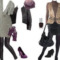 Rockiges Herbst Outfit Lust auf Leder
