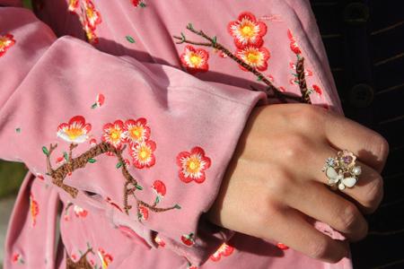 rosa Mantel von Marc Jacobs 2