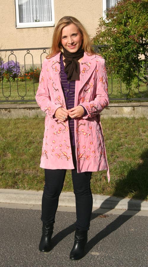 Mein rosa Mantel von Marc Jacobs
