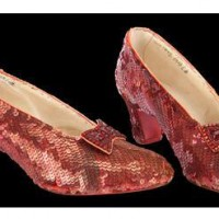 Ruby Slippers aus The Wizard of Oz