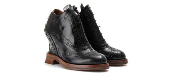 Ankle Boots im Brogue Stil von ACNE