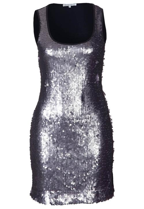 Anna Field Kleid in Silber