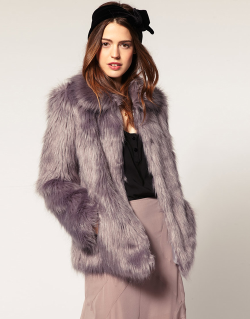 Asos Fake Fur Jacke 1