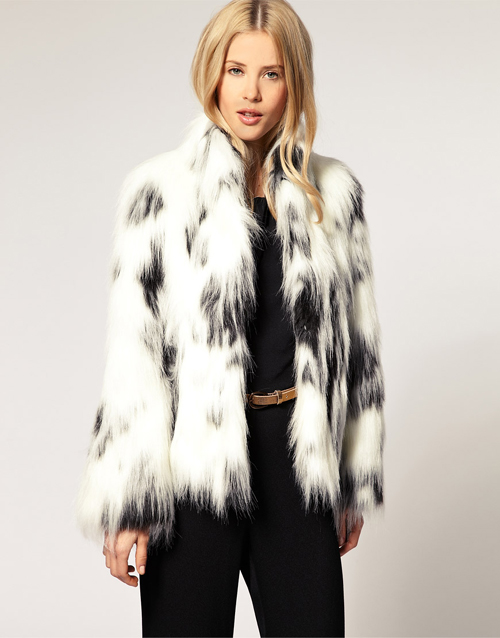 Asos Fake Fur Jacke