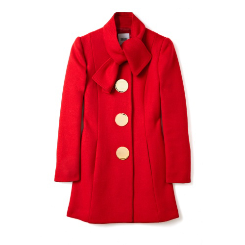 Bow Neck Swing Coat by Moschino Cheap & Chic