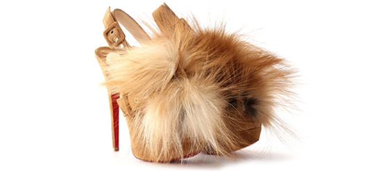 Christian Louboutin Splash Fur 150