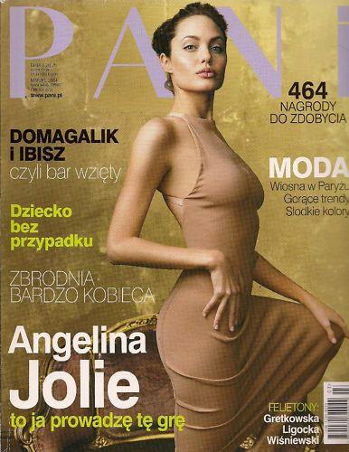 Cover Angelina Jolie Pani Magazine Poland März 2004