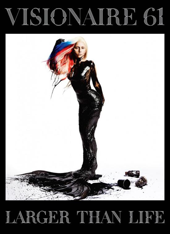 Cover Visionaire Magazin Lady Gaga 1