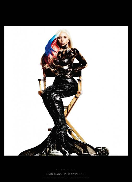 Cover Visionaire Magazin Lady Gaga 2