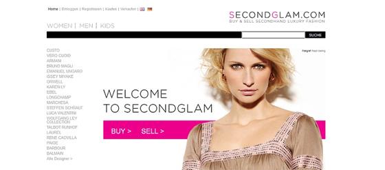 Designer Second Hand Shop secondglam.com