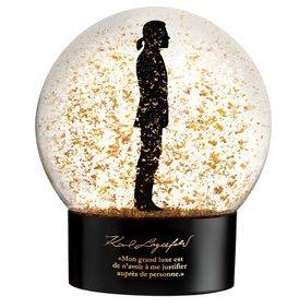Karl Lagerfeld für Sephora Schneekugel