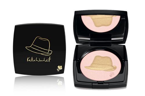 Kate Winslets Golden Hat Foundation Puder von Lancôme
