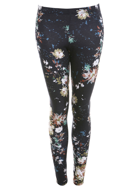 LEGGINGS MIT BLUMENMUSTER missselfridge