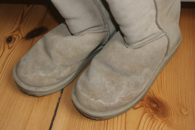 Meine dreckigen Ugg Boots