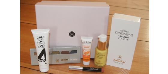 Meine Glossy Box vom November 2011