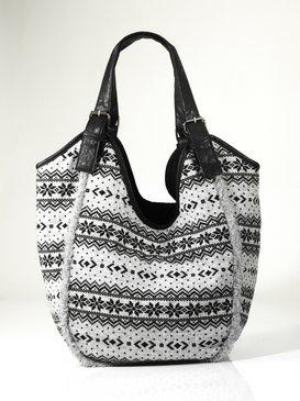 Modische Tasche in Jaquard-Dessin