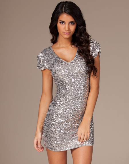 NELLY ONENESS JARNA SEQUIN DRESS