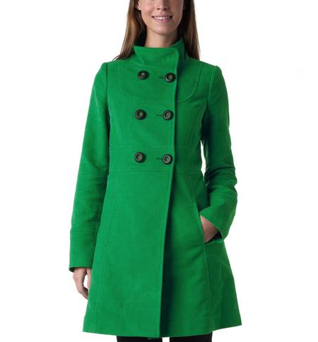 Promod Mantel grün