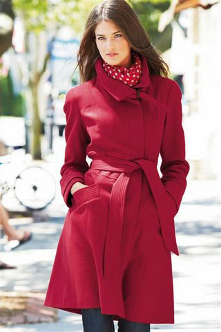 roter Mantel von NEXT