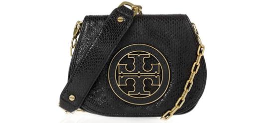 schwarze Tory Burch Tasche