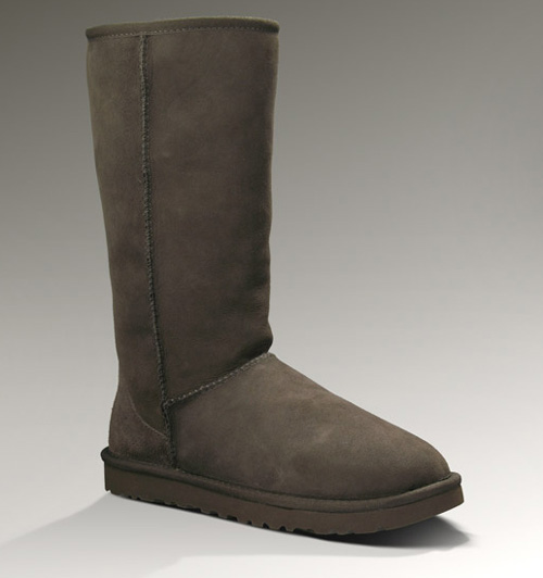 UGG WOMENS CLASSIC TALL CHOCOLATE