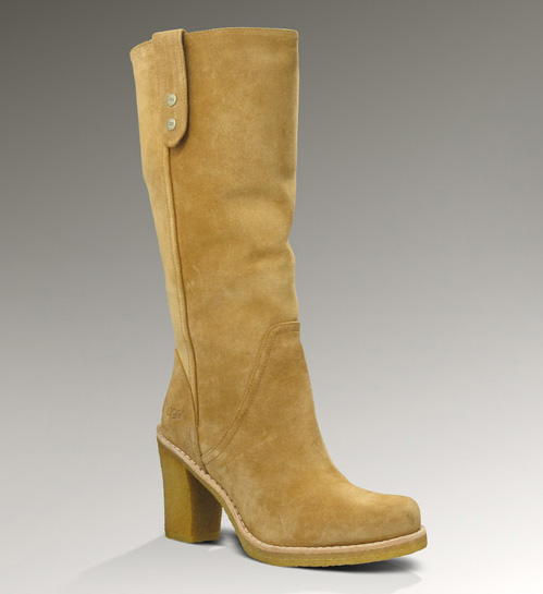 UGG WOMENS JOSIE CHESTNUT