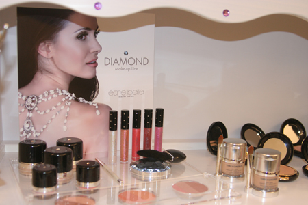 Diamond Make-up-Linie von être belle Cosmetics