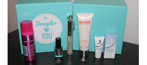 Douglas Box of Beauty Dezember 2011