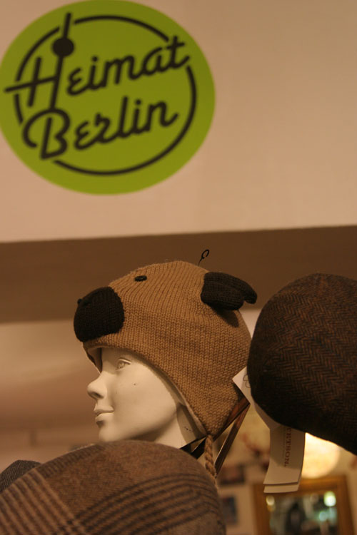 Gewinn Bärchenmütze vom Laden Heimat Berlin