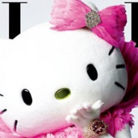 Hello Kitty Cover Dezember ELLE Taiwan