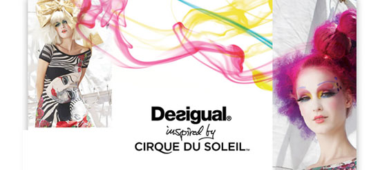 Kollektion Desigual inspired by Cirque du Soleil