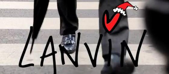 Lanvin wünscht frohes Neues Fest