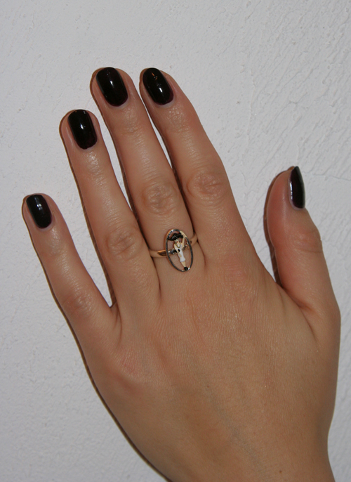 Mein neuer Les Nereides Ring mit Figürchen