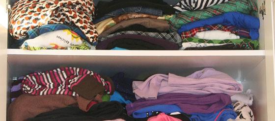 Mein prall gefüllter Kleiderschrank 1