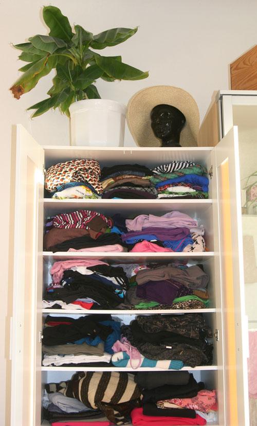 Mein prall gefüllter Kleiderschrank