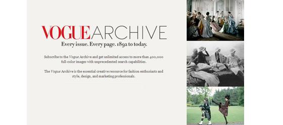 Vogue Archiv