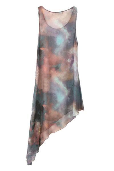 Asymmetrisches Kleid von ROMWE