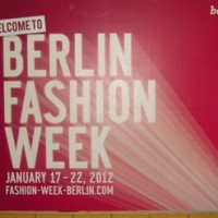 Berlin Fashion Week 2012