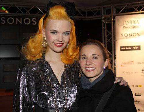 Bonnie Strange bei der Fashion Rock Night 2012