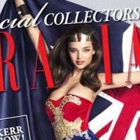 Cover Grazia Australien Miranda Kerr als Wonder Woman