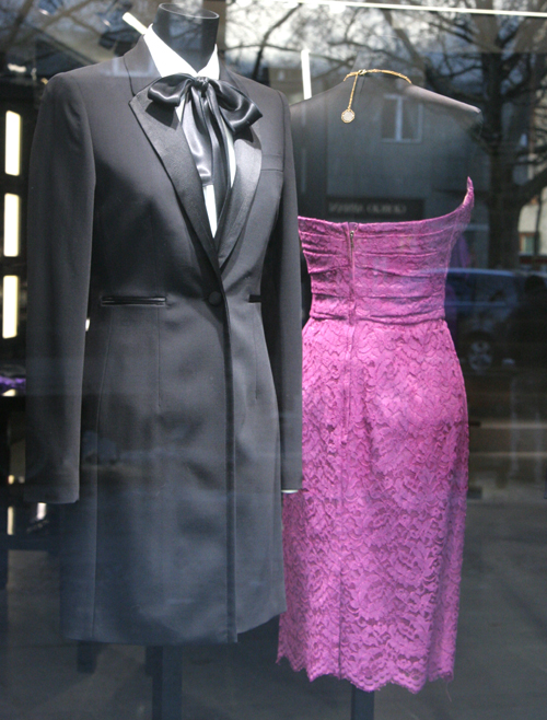 Dolce & Gabbana Store in Berlin Schaufenster 1