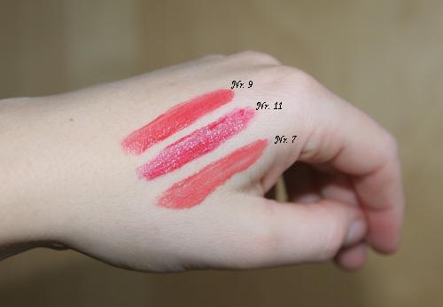 Farben der YSL Probe Rouge Pur Couture Vernis à Lèvres