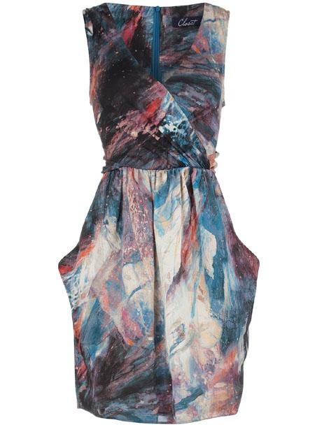 Galaxie Kleid von Closet