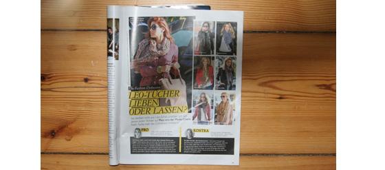Grazia Magazin Nr. 2 von 2012 Leo-Tücher
