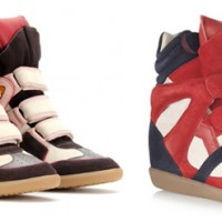 Isabel Marant High Top Turnschuhe Sneaker